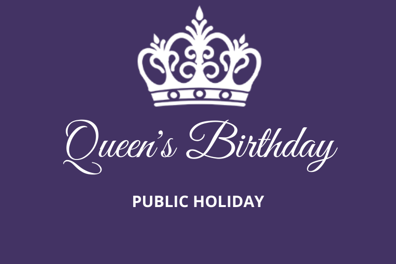 Queens Birthday Public Holiday – Welsby Parade Medical Centre